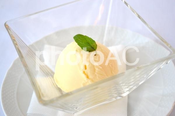 バニラアイスの写真