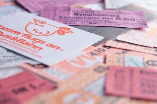 チケット 旅行 乗車券 入場料 バス 電車 美術館 回数券 ドイツ ヨーロッパ