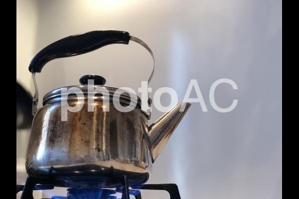 やかん 湯沸かしの写真
