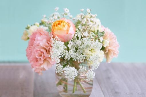 ブーケの花の写真