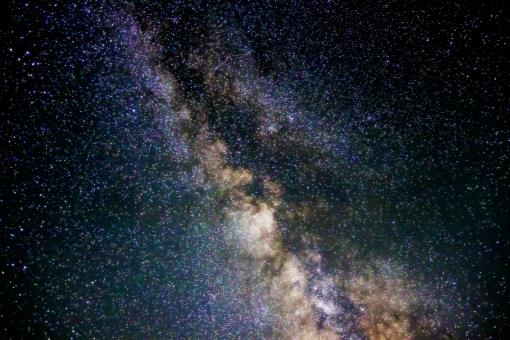 ミルキーウェイ 宇宙 天体 夜空 星 惑星 夏 七夕 恒星 星座 銀河 昔話 天文 星雲 幻想的 ファンタジー 神秘的 ロマンチック SF 背景