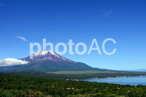 パノラマ台からの富士山の写真
