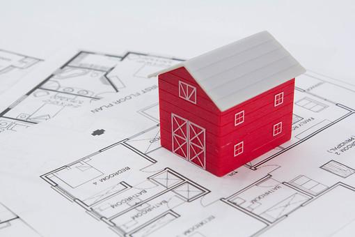 家の模型影38の写真