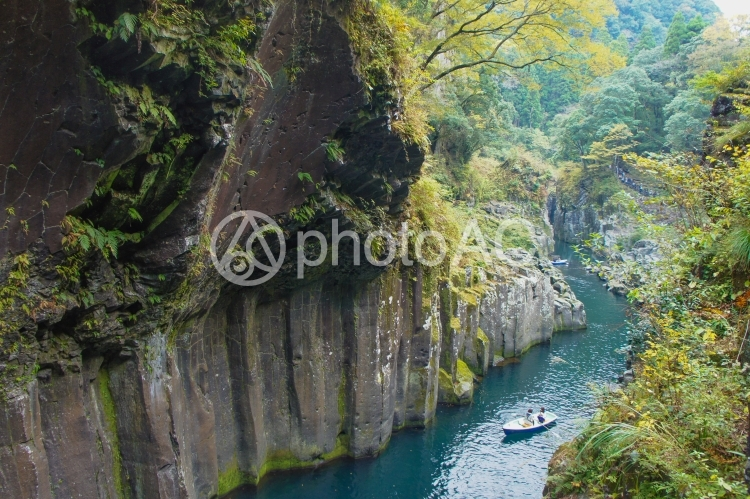 高千穂峡の写真