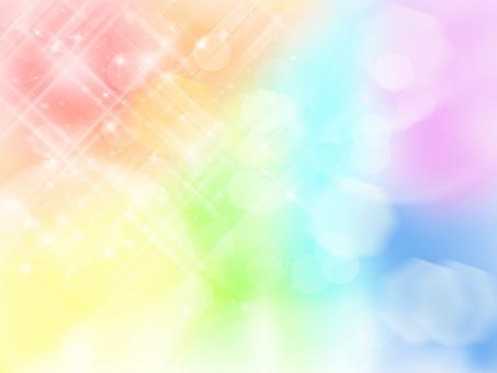 虹 テクスチャー 壁紙 背景 カラフル 水玉 色 きらきら 淡い 赤 青 水色 緑 黄色 紫 紺 グラデーション ポップ カード はがき 葉書 幸運 幸せ 開運 まぶしい 日差し 光 天使 夏 夏日 真夏日 キラキラ 反射 放射 ときめく トキメキ ときめき 七色 7色 素敵 綺麗 カワイイ かわいい 可愛い レインボー rainbow バックグラウンド バックグランド イメージ 素材 虹の日