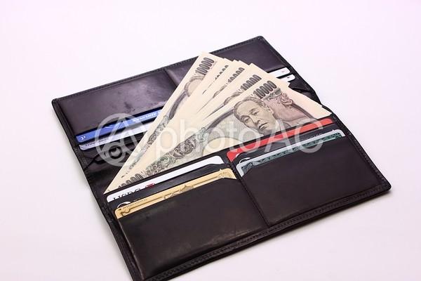 財布の中に万札4の写真