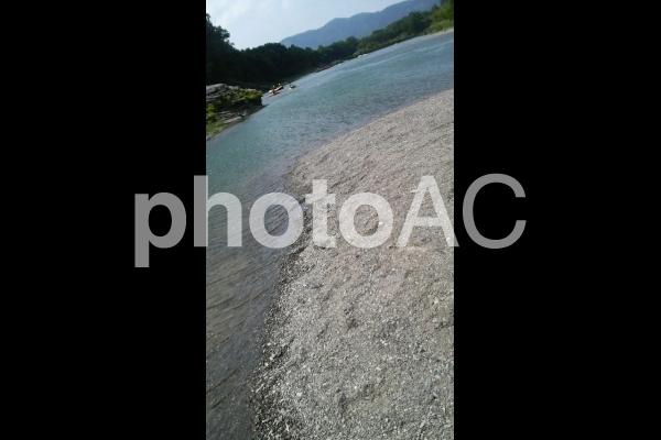 長瀞 荒川川岸の写真