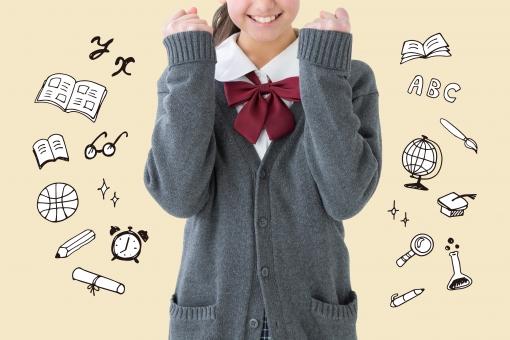 【切抜PSD】充実した学校生活の写真