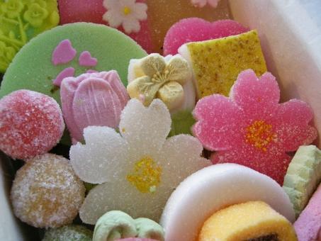 干菓子 和菓子 花 伝統 老舗 春 桜