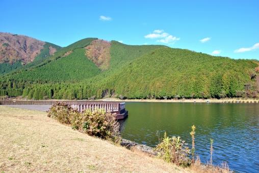 田貫湖 湖 山 山梨 静岡 富士 観光 観光地 ピクニック ハイキング キャンプ キャンプ場