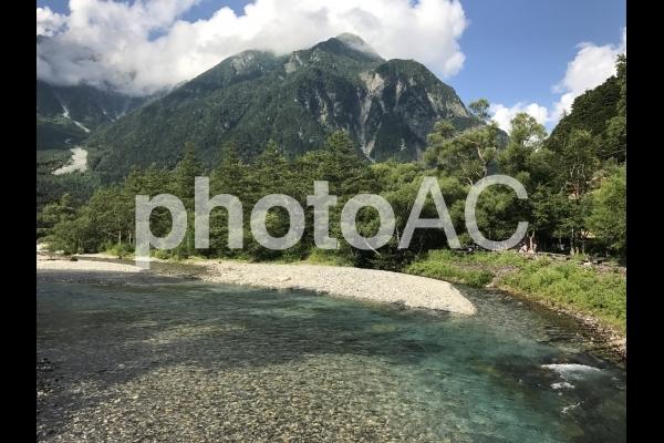 上高地の自然の写真