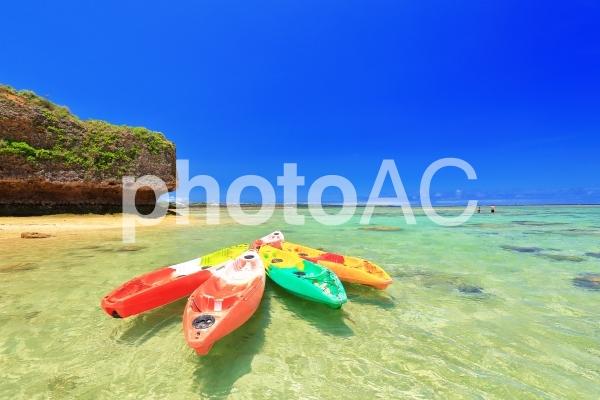 沖縄の海の写真