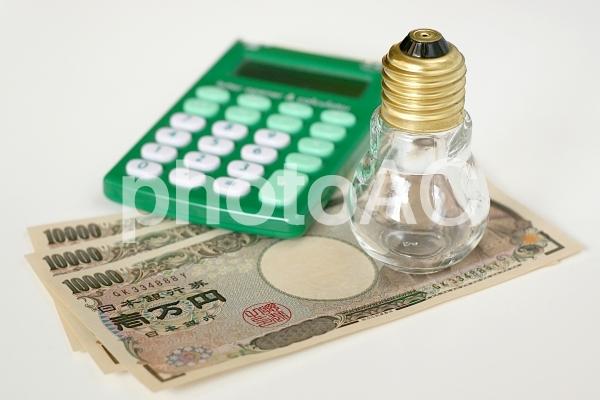 電気の価格の写真