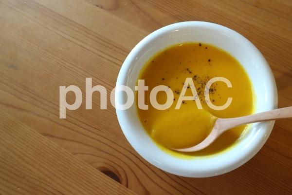 かぼちゃのスープの写真