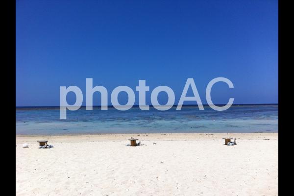 石垣島のビーチの写真