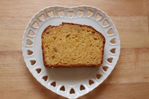 パウンドケーキ ココナッツオイル 手作り 手作りパウンドケーキ ケーキ 手作りケーキ 手作りスイーツ スイーツ おやつ お菓子 焼き菓子 ハート カフェ