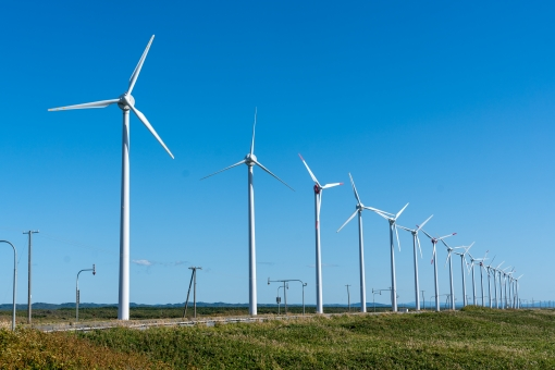 風力発電に関する写真写真素材なら写真ac無料フリー