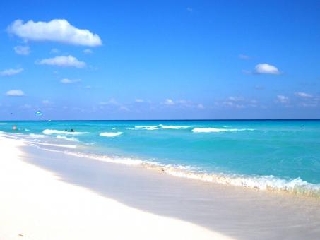 南国ビーチ カリブ海の写真