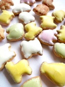 どうぶつ 動物 アニマル カラフル パステル シュガー スイーツ 駄菓子 お菓子 おやつ クッキー ビスケット ようち 幼稚 子供 こども キッズ ベビー