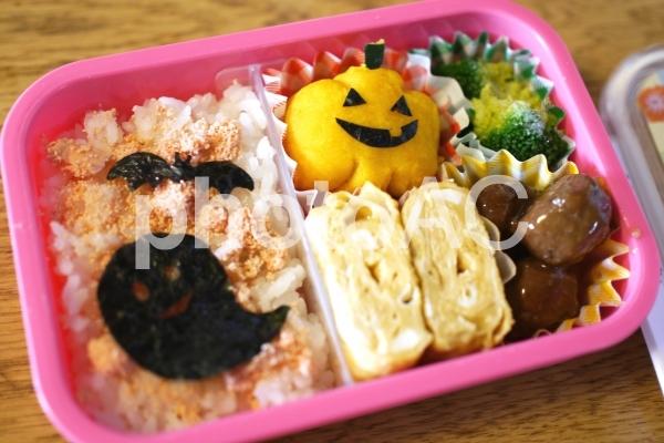ハロウィンお弁当の写真