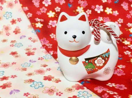 2018年 戌の置物 お正月飾り 干支飾り 戌の干支飾り いぬ 戌 犬の写真