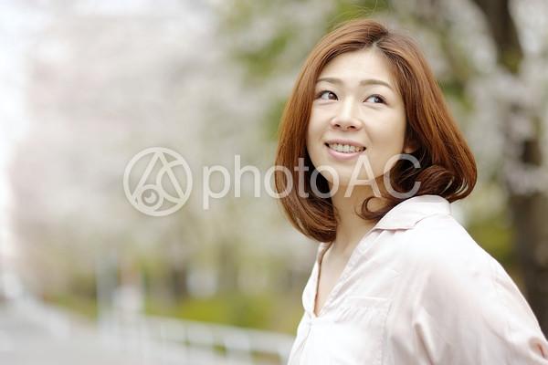 笑顔の女性6の写真
