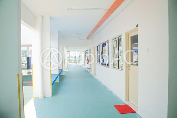 海外の廊下1の写真