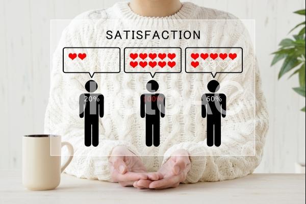 顧客満足度の写真