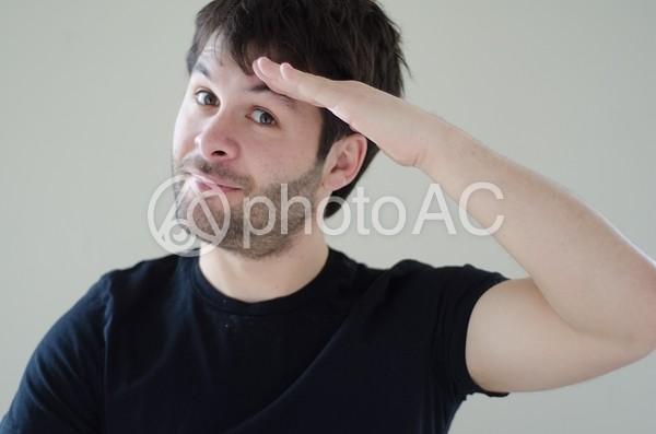 外国人男性の色んなポーズ228の写真