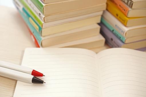 TOEICの参考書とノート