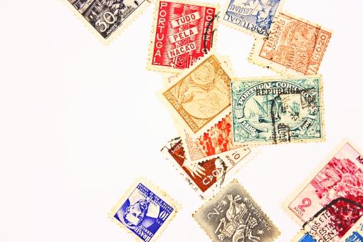 切手 アンティーク レトロ 古い 古切手 コレクション 趣味 世界 各国 収集 切手収集 外国切手 ビンテージ ヴィンテージ 郵便 郵便物 手紙 封筒 コラージュ 消印 国際郵便 使用済み 海外 骨董品