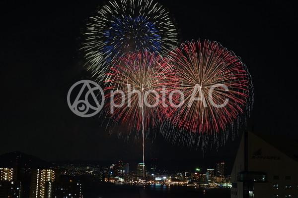 神戸の花火大会1の写真