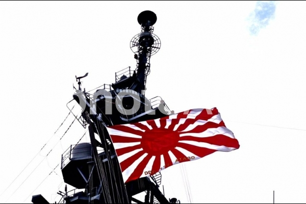 旭日旗の写真