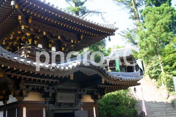 弥山の霊火堂の写真