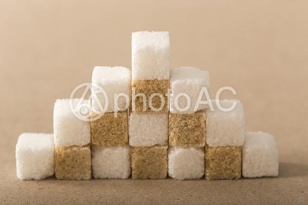 積まれた角砂糖2の写真