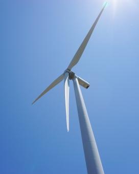 風力発電 自然エネルギ- 風力エネルギー 風車 エコ 次世代エネルギー 発電機 プロペラ 風力発電機 空 青空 福井 福井県 あわら 風力 再生可能エネルギー 次世代