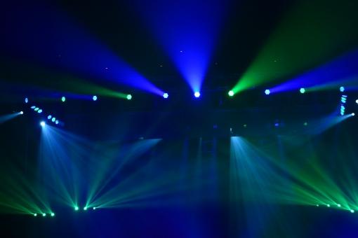スポットライト ステージ ライト 照明 青