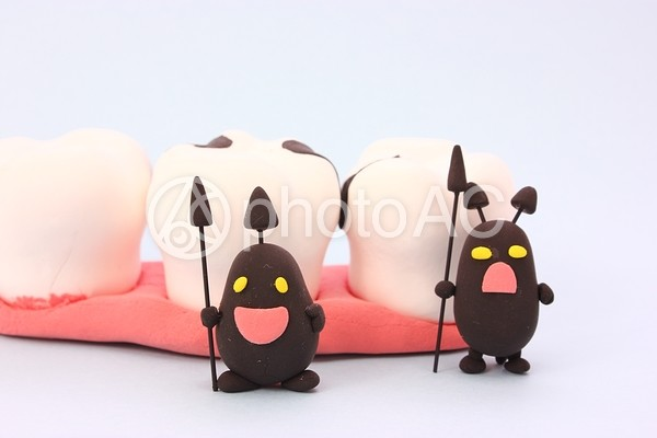 ばい菌と虫歯5の写真