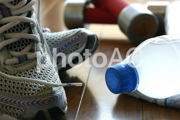 運動イメージ 室内の写真