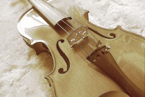 バイオリン ヴァイオリン 楽器 セピア 音楽
