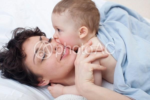 母と子1の写真