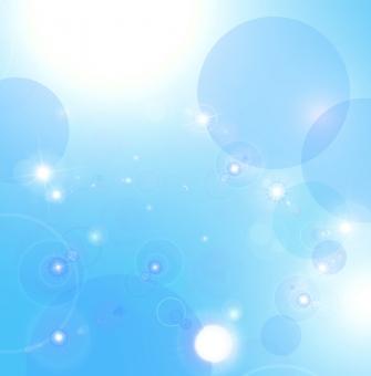 陽光 ブルーの写真
