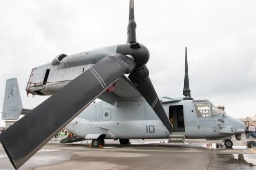 オスプレイ 航空機 軍事機密 展示 フレンドシップデー 岩国基地 基地 戦争 防衛 軍事 軍事施設