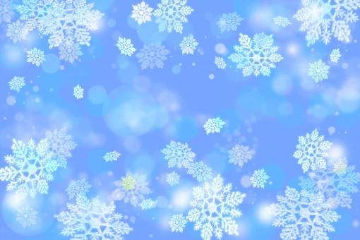 冬 イメージ 雪 キラキラ 光 輝き ファンタジック 華やか 背景 テクスチャ 青 ブルー 結晶 壁紙 青 冷たい クリスマス オーナメント 玉ボケ 氷 年賀状 クリスマスカード グリーティングカード イメージ