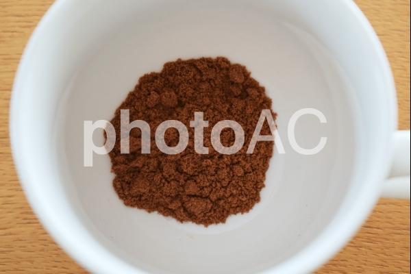 粉末のココアの写真