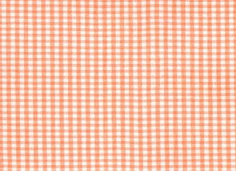 布 チェック ギンガムチェック ギンガム オレンジ ランチョンマット テーブルクロス 明るい ほのぼの 綿 生地 布地 ピクニック テクスチャ 背景 背景素材 素材 雑貨 テーブルクロス 柄 模様 橙色 オレンジ色 バック バックグラウンド ファブリック