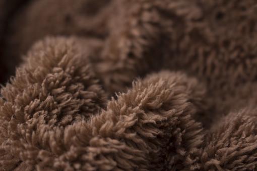 背景 テクスチャ バック ボア ぼあ 毛布  もこもこ モコモコ 布 ぬの 生地 きじ  材料 ざいりょう 手芸  しゅげい 裁縫 ソーイング クラフト くらふと 柄 がら   パーカー ぱーかー 袖 そで 毛足 けあし 裏地 うらじ 茶 ちゃ 色 うねり