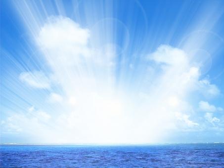 海と空05の写真
