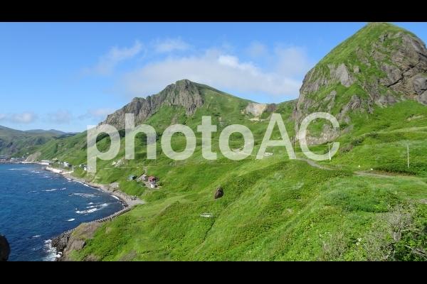 礼文島の風景の写真