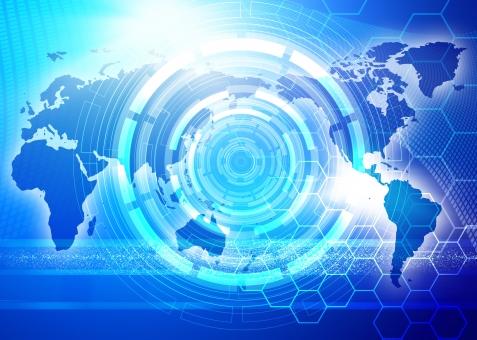 IT CG テクノロジー ビジネス 最先端 先端 先進 技術 世界 世界地図 経済 ニュース 国際的 国際化 グローバル インターナショナル 青 ブルー CG 光 世界経済 情報 情報通信 先端技術 高度情報化社会 エレクトロニクス 科学 サイエンス SF ビッグデータ